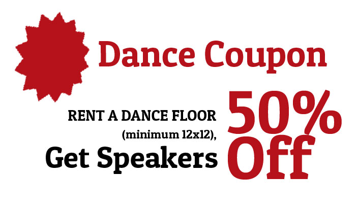 Dance coupons